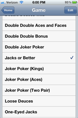 double bonus aces and faces game with spinner