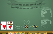ultimate texas holdem online play