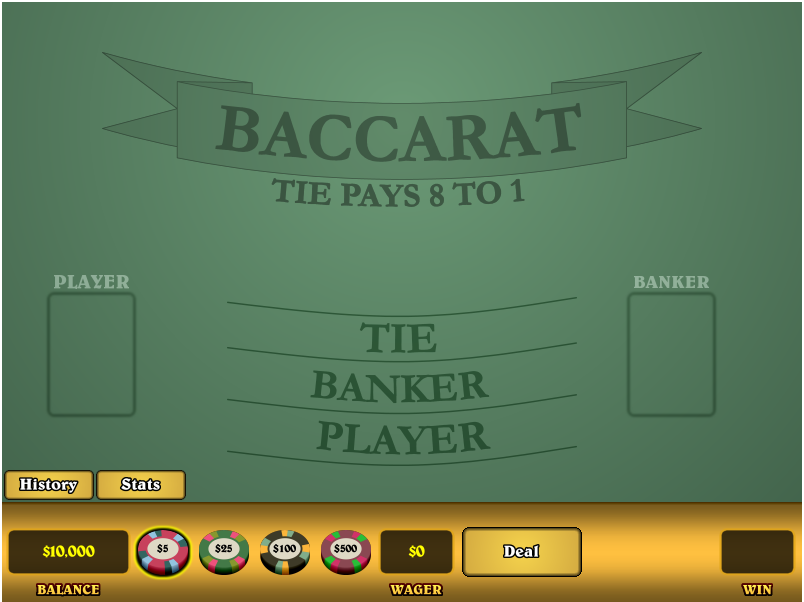 Baccarat Payout Odds
