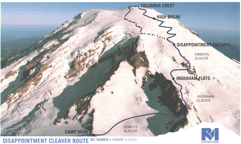 Ascending Mount Rainier Wizard of Odds