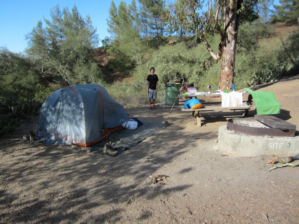 Camping on Catalina Island