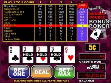 double bonus poker tutorial