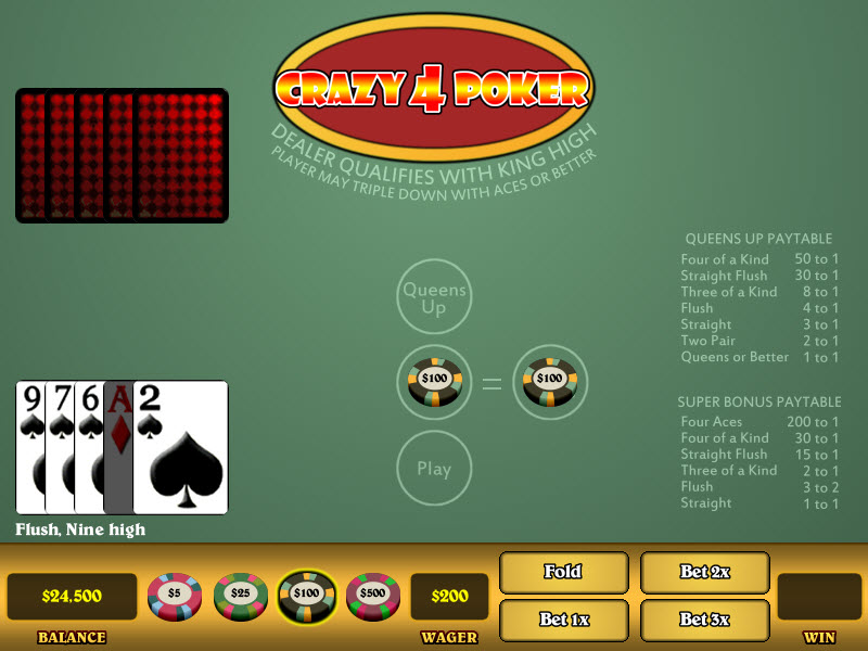4 card poker betting strategy cryptocurrency wallpaper for computer