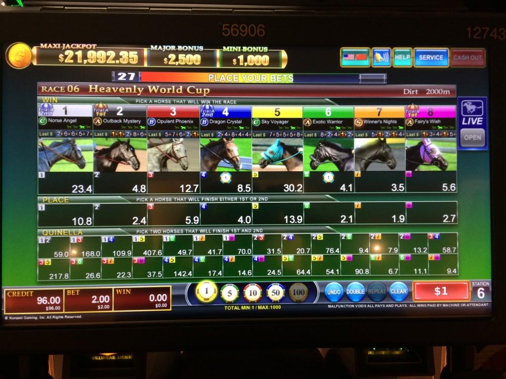 Horse racing games betting big jackpot betting blogger