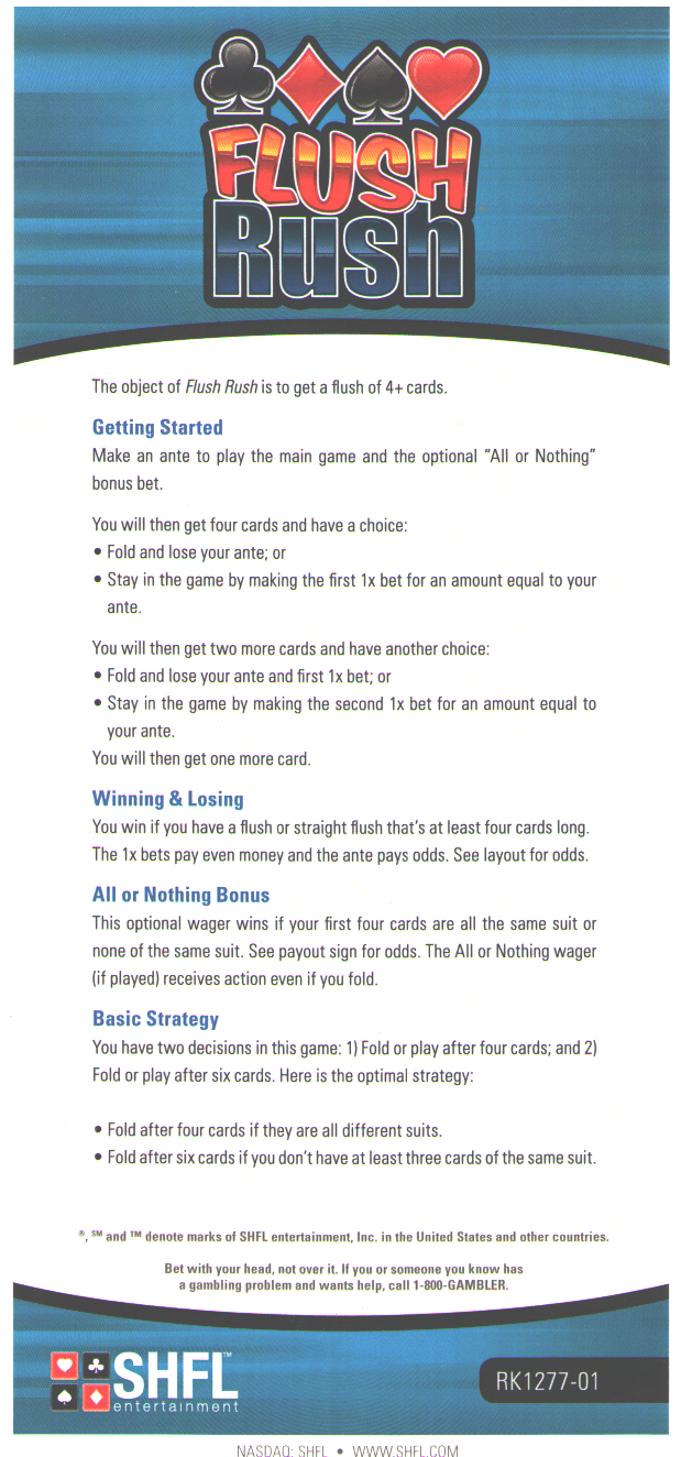 rules to mississippi stud