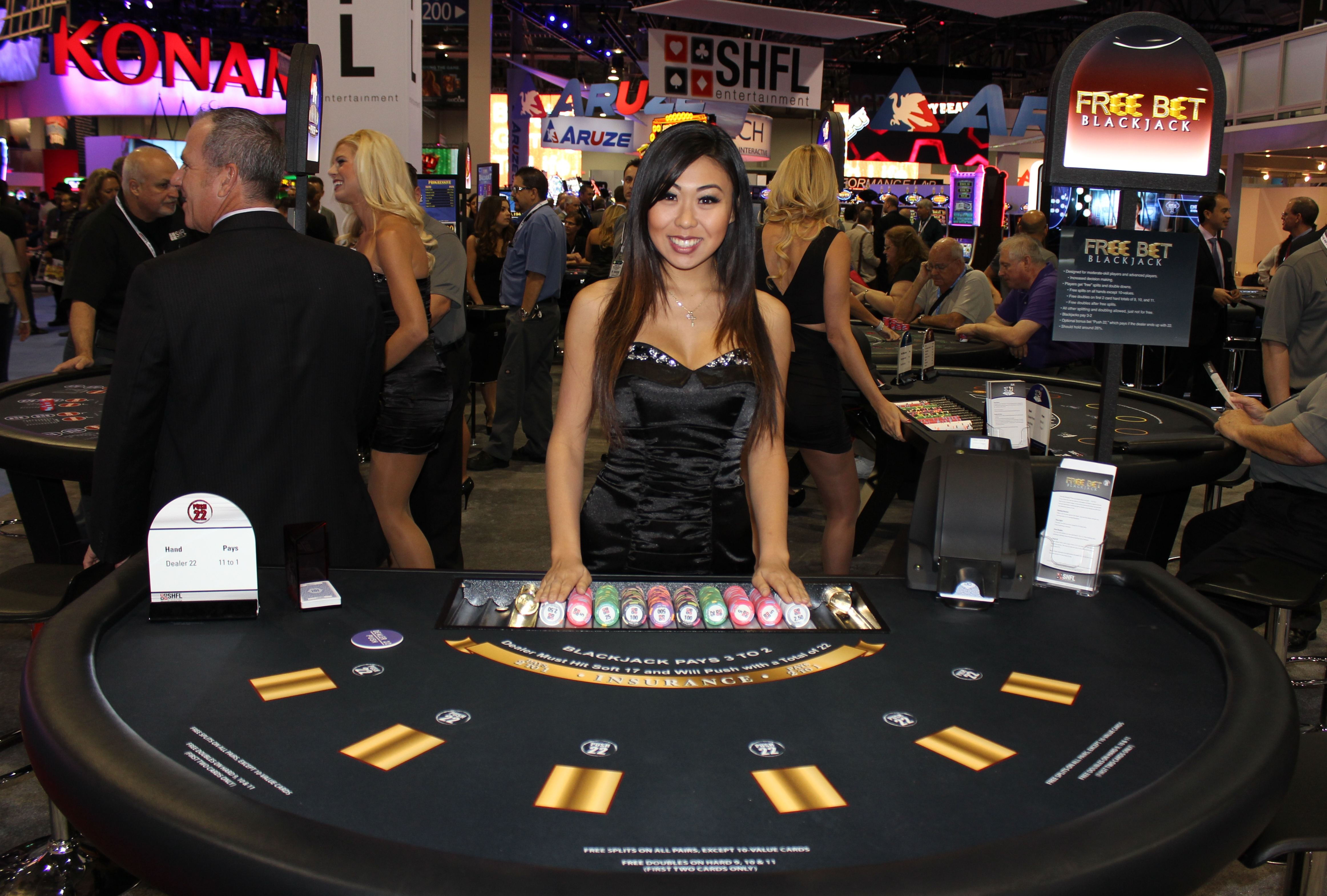 casino black jack odds