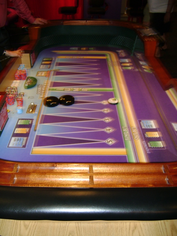 Casino backgammon casino problem