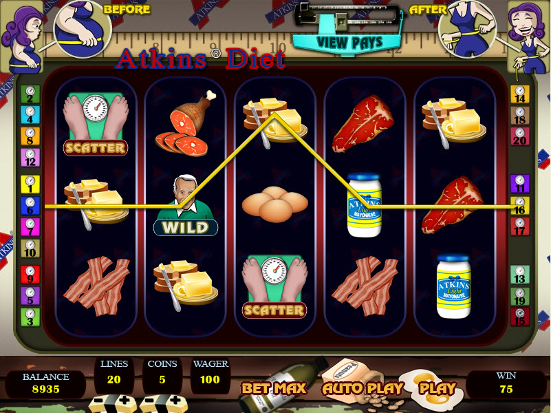 Slots machine probability