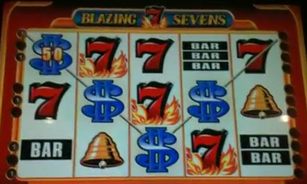 blazing 7 slot machine games