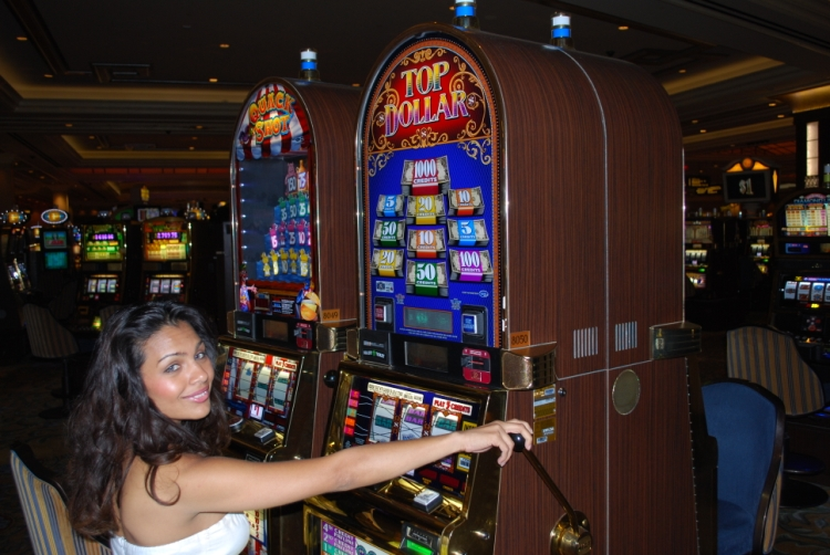 Vegas casino slot machine odds