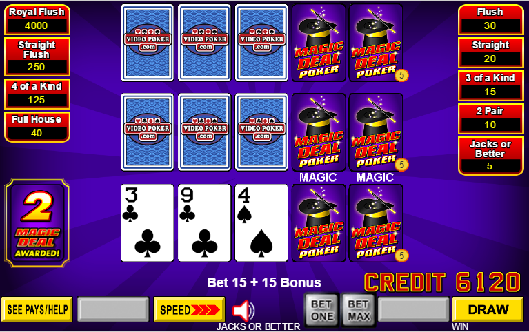 Video poker 101 betting best binary options graphs of functions