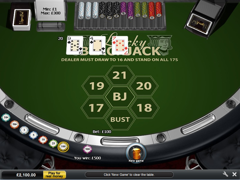 wizard of odds play blackjack