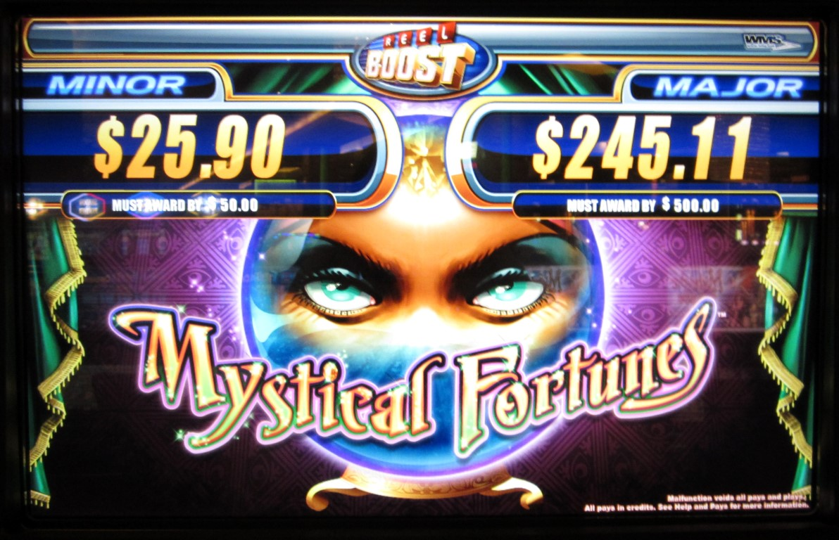 progressive slot machine odds
