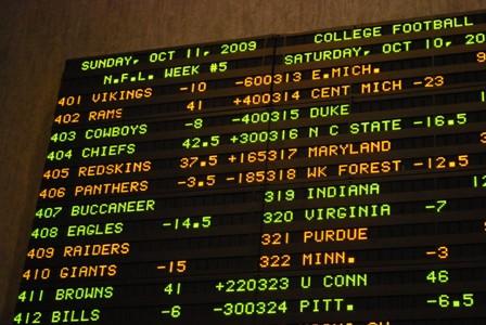 Casino Sports Betting Odds