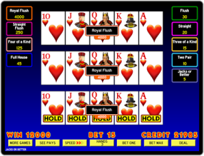 video poker 9 6 jacks or better strategy sheet for graduated