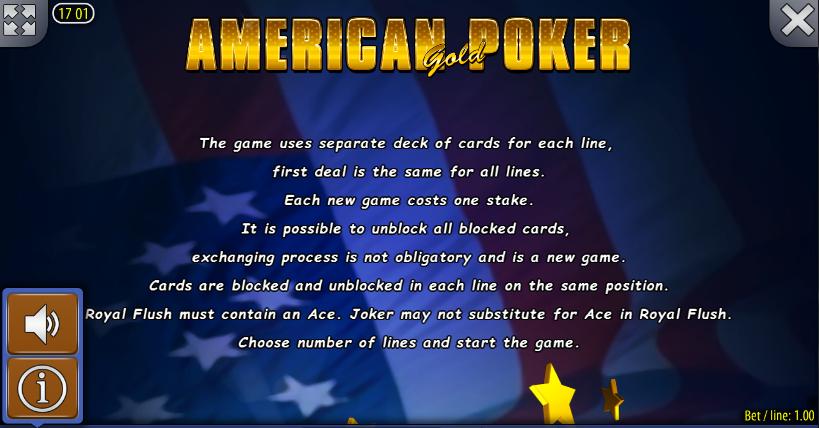 American holdem poker