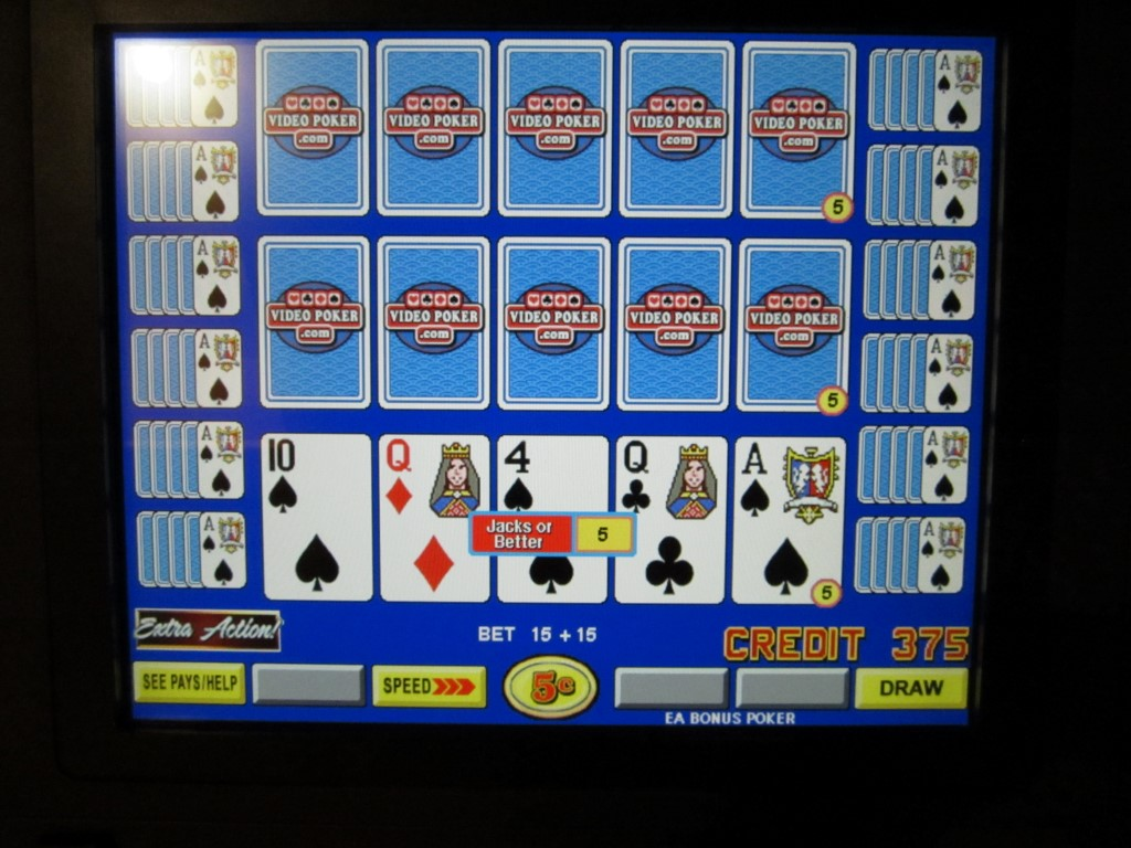 extra action video poker