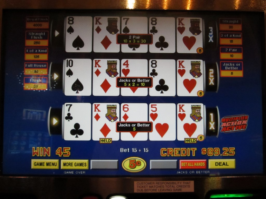 Videopoker bonus wsop thecasinoguide casino prescott