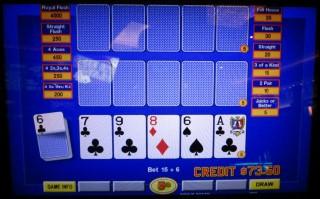 5 card draw poker odds chart outside christmas