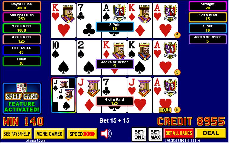 Gambling lucky 15