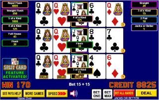 Poker rules split hands