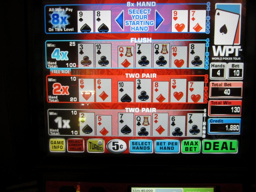 multi strike poker flash game