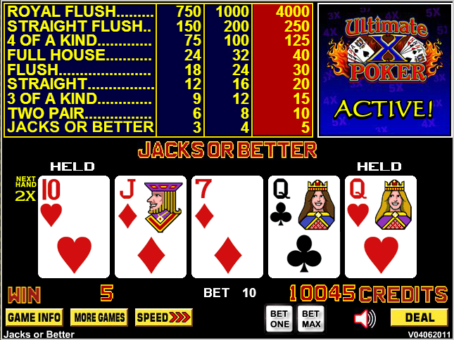 poker 2 pair vs 3 of a kind games 5