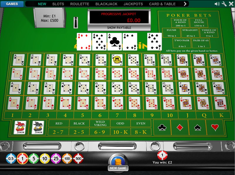 High probability casino games real deal casino games