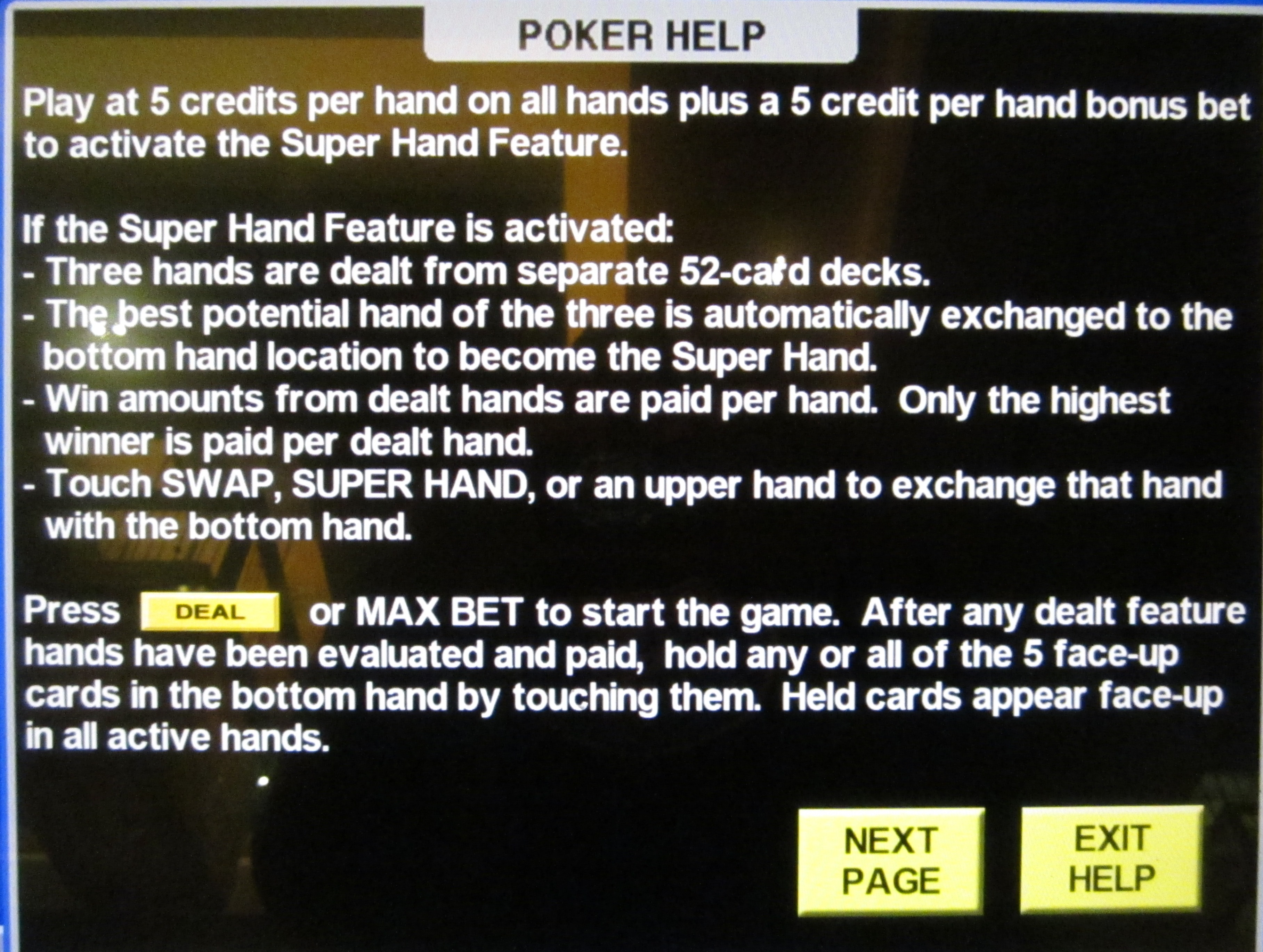 what is the probability of getting a flush on the initial deal in poker