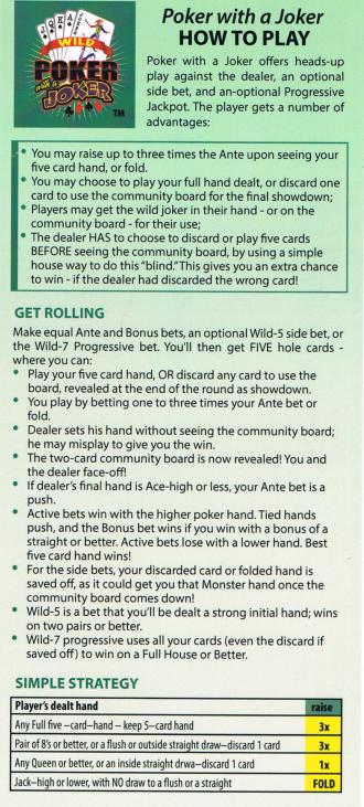 Wild Five Poker Wizard Of Odds