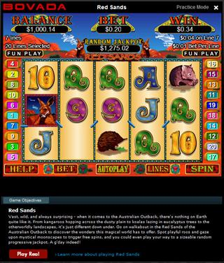 sands online casino wizards win