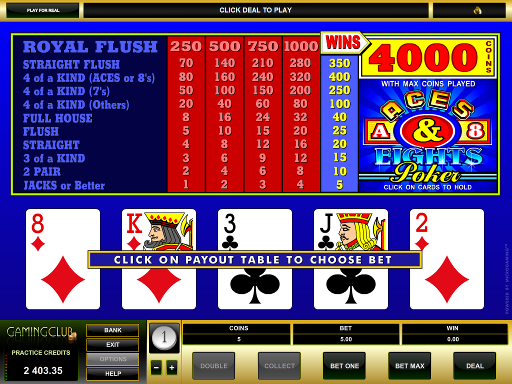 aces and eights poker club 88 online