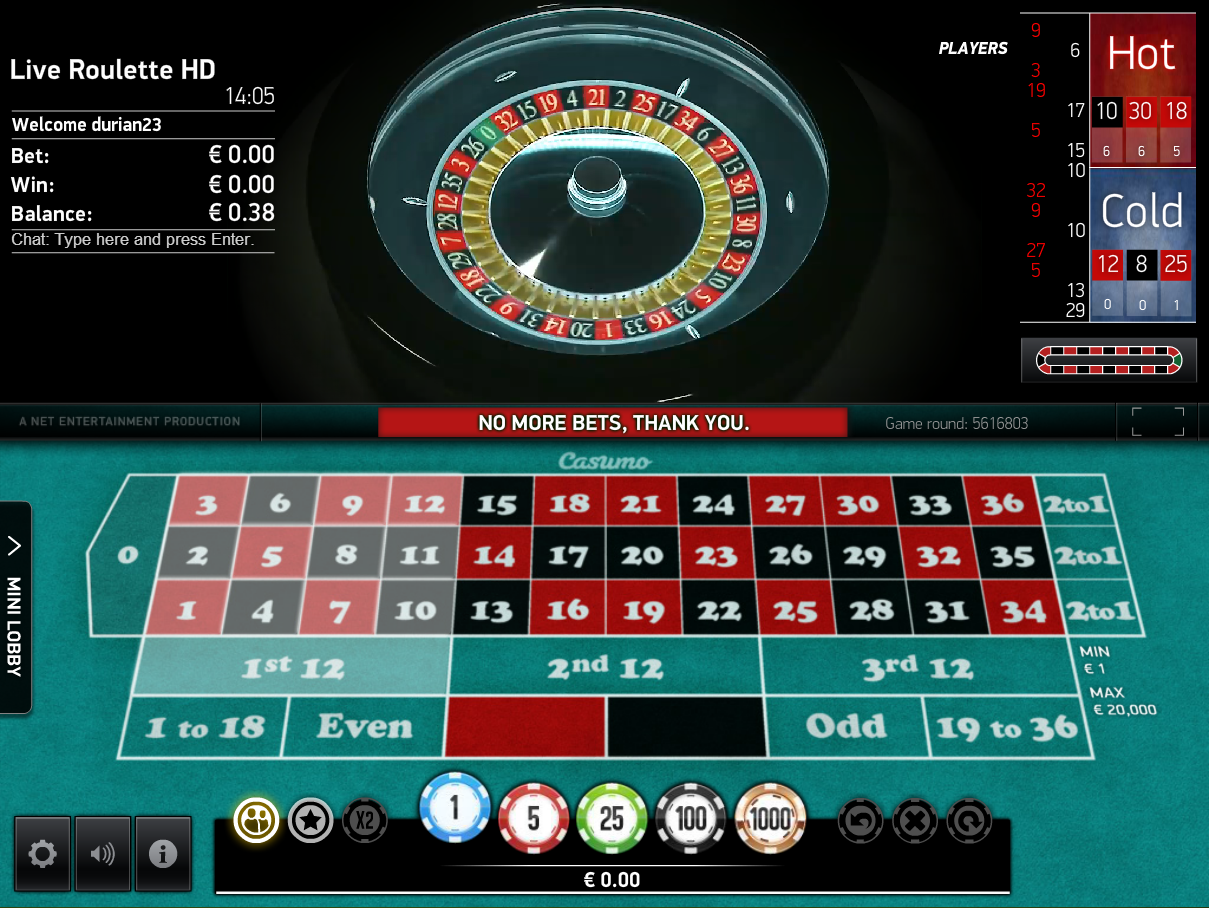 casino online roulette free novo lines