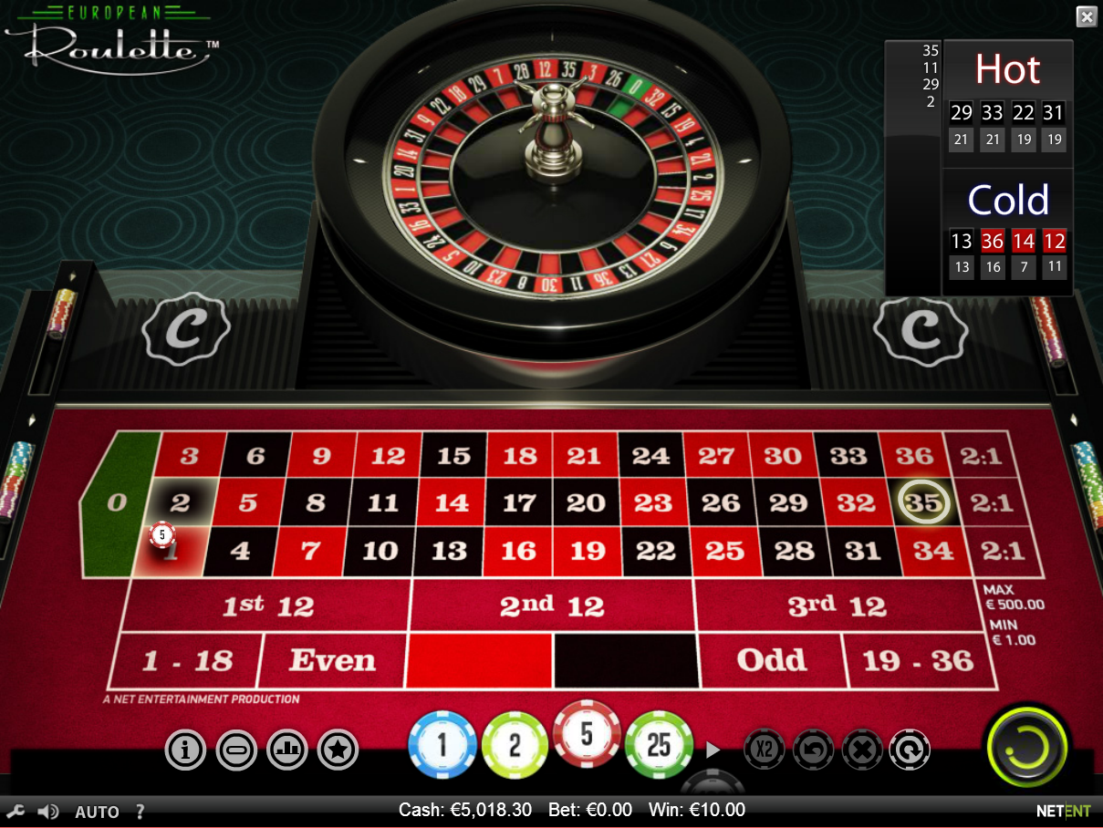 online casino europe entertainment ltd