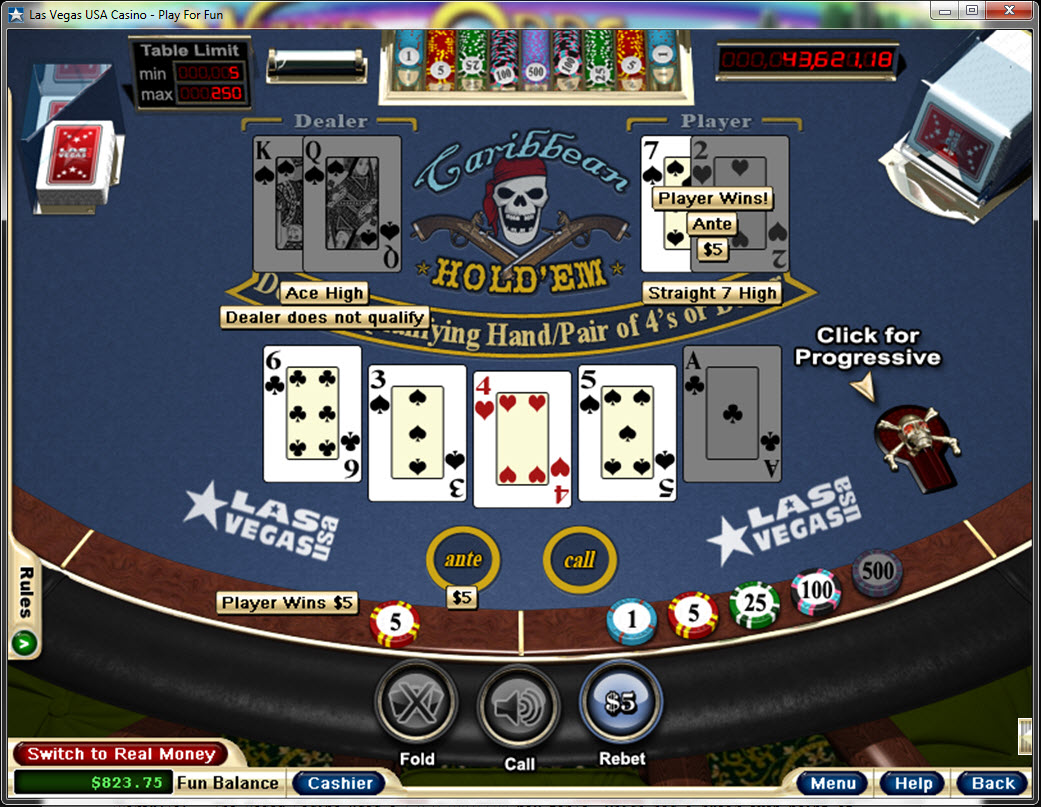 casino texas hold em house edge