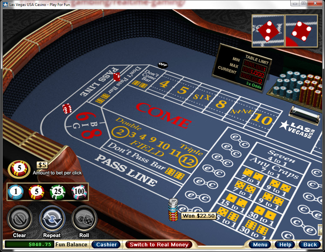 casino craps online the gaming wizard