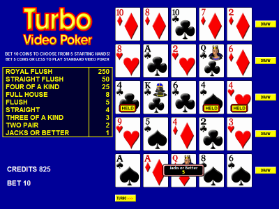 wizard of odds video poker