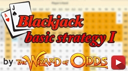 Blackjack Basic Strategy with infinite decks
