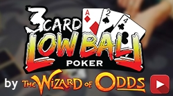 3 Card <br/> Lowball Poker