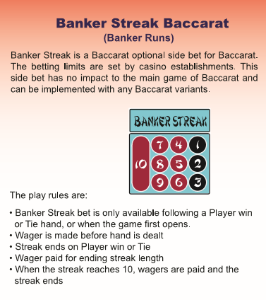 Banker Streak