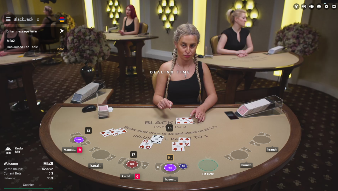 Roulette russe english