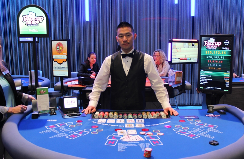 Poker hands two pair tie
