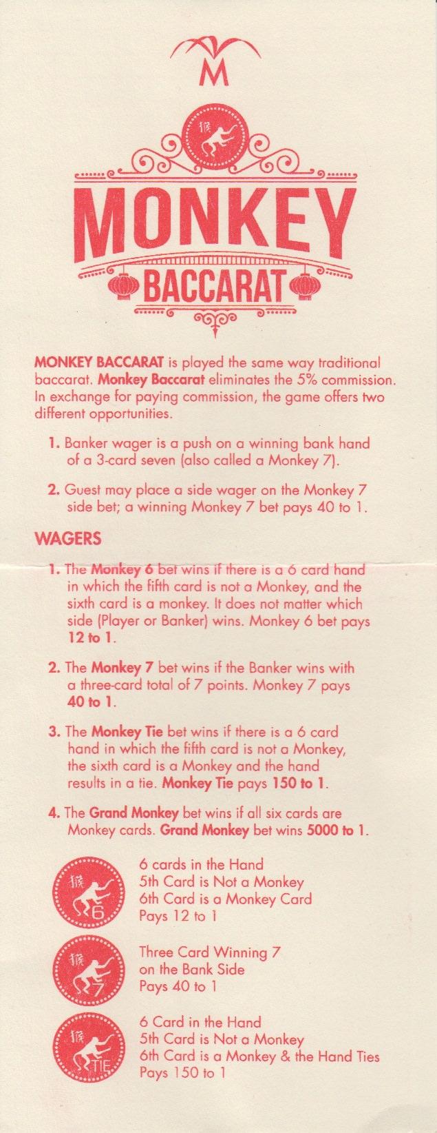 Monkey Baccarat