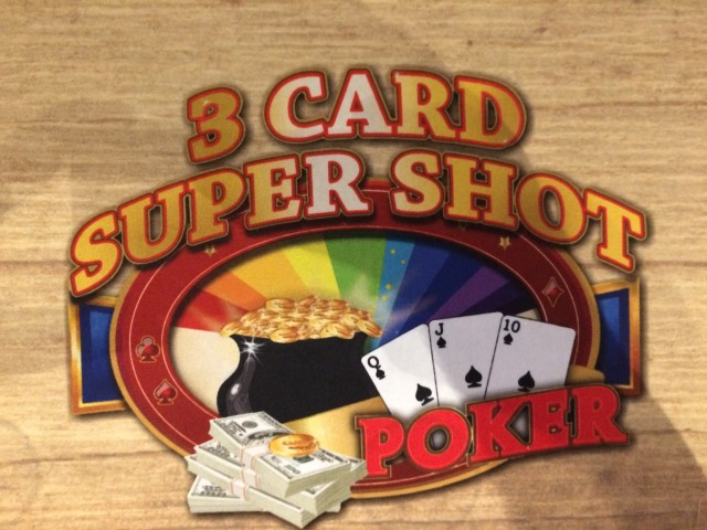 3 Card Super Shot Poker