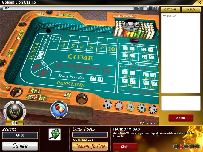 Golden Lion Casino is Rated 2.8 out of 5 in 2018 ▷ 2 Bonuses