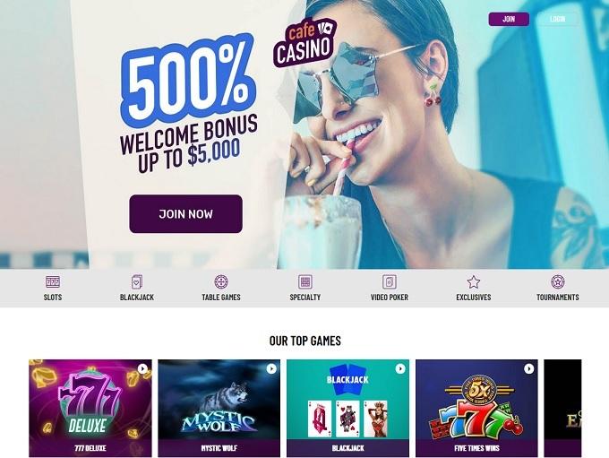 Café Casino has the Wizard's Seal in 2019 ▷ 3 Bonuses
