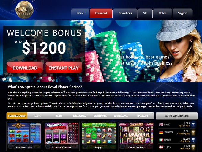 Royal Planet Casino Review – Is this A Scam/Site to Avoid