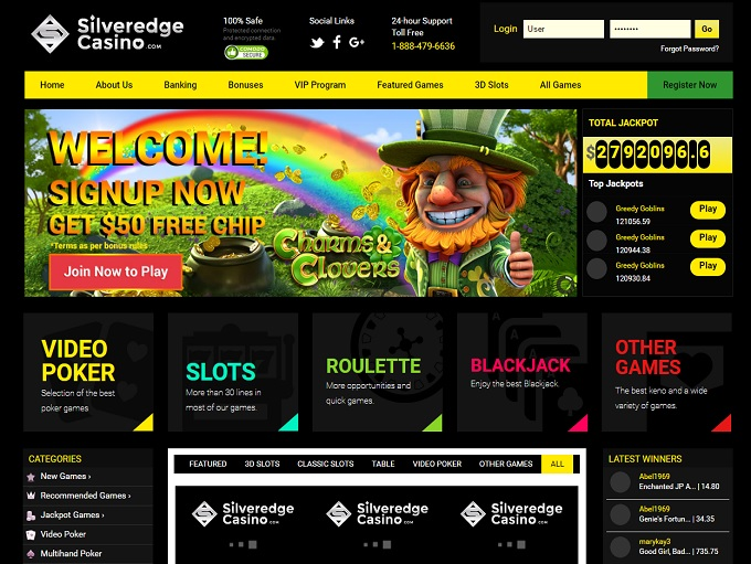 Silveredge Casino Review – Is this A Scam/Site to Avoid