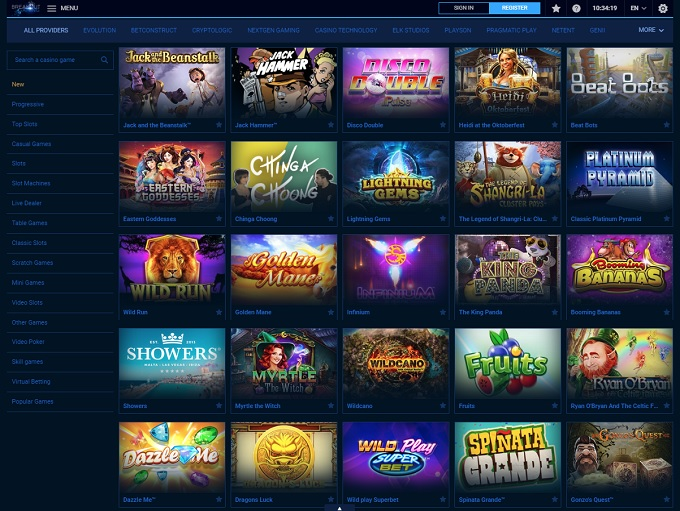 Breakout Gaming Casino Review ▷ Closed 2018-06-01