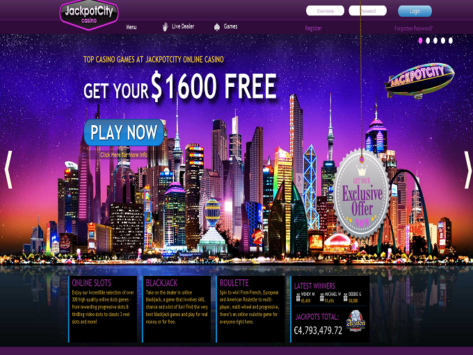 Jackpotcity Online Casino Flash
